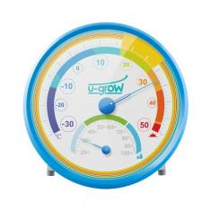 Termo Higrometru U201TH Bleu - Termometru copii