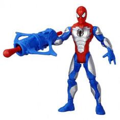 Figurina Spider Man cu Armura - Figurina Povesti Hasbro