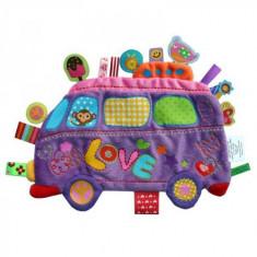 Minipaturica Holiday - Love Bus - Jucarie pentru patut