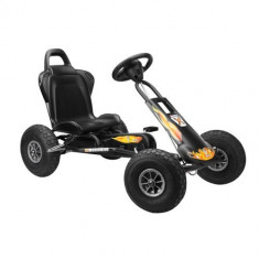 Kart Air Runner Negru - Kart cu pedale ferbedo