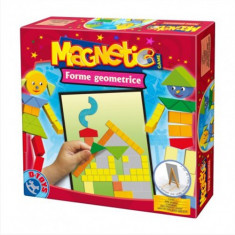 Joc Magnetic Forme Geometrice - Jocuri arta si creatie D-Toys