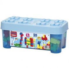 Set Constructii Abrick Albastru 50 Piese - Scule si unelte Ecoiffier