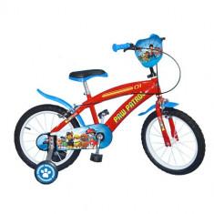 Bicicleta Paw Patrol, 16 inch - Bicicleta copii Toimsa