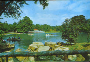 Romania - CP circulata 1976  - Craiova - Vedere din Parcul poporulu