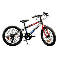 Bicicleta 420U Seria MTB, 20 inch Albastru - Bicicleta copii Dino Bikes