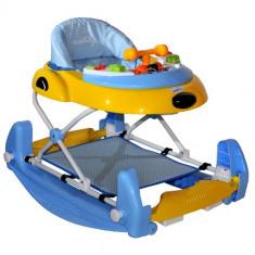Premergator DHS Baby Swing Albastru, 1-3 ani