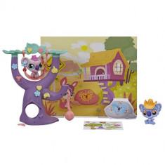 Littlest Pet Shop - Set Tematic Koala - Figurina Povesti Hasbro