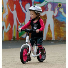 Bicicleta fara Pedale Biky White - Bicicleta copii Berg Toys