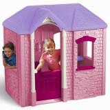 Casuta Cambridge Pink - Casuta copii Little Tikes