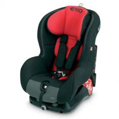 Scaun Auto Exo Basic 9-18 kg Rosu cu Negru - Scaun auto copii grupa 0-1 (0-18 kg) Jane, 1 (9-18 kg), Isofix