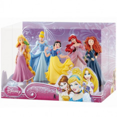 Set 5 Figurine Printese Disney, Bullyland