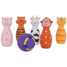 Set de Popice Soft cu Animalute - Jucarie pentru patut