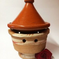 Suport CARBUNI TAJINE TAGINE ( Gatit traditional, Maroc, bucatarie)