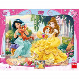 Puzzle Jigsaw Belle si Jasmine 12 Piese