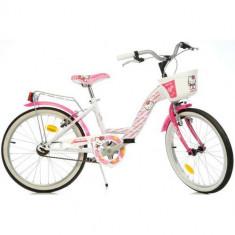 Bicicleta 20 Inch Hello Kitty - Bicicleta copii Dino Bikes