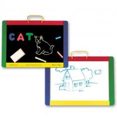 Tabla Magnetica si de Scris cu Litere - Jocuri arta si creatie