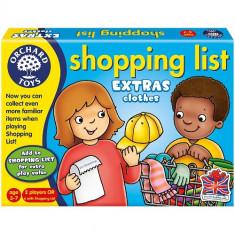 Joc Educativ Lista de Cumparaturi Haine - Jocuri Logica si inteligenta orchard toys
