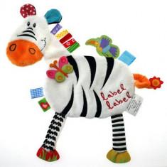 Minipaturica Friends - Zebra - Jucarie pentru patut