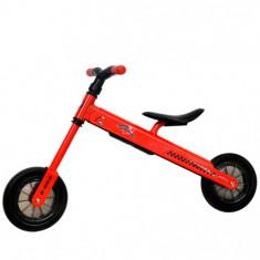 Bicicleta fara Pedale B-Bike Rosu - Bicicleta copii