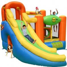 Saltea Gonflabila Play Center 10 in 1 Happy Hop