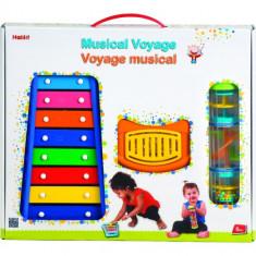 Set jucarii muzicale Voyage - Jucarie pentru patut