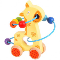 Jucarie Dexteritate - Girafa - Jocuri Logica si inteligenta Bigjigs