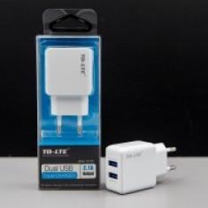 Incarcator retea universal Dual USB TD-T101