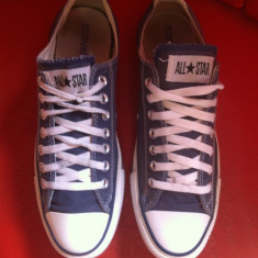 Converse All Star low top originali, nr.42-27 cm. - Tenisi barbati Converse, Culoare: Bleumarin, Textil