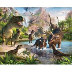 Tapet pentru Copii Dinosaur Land - Decoratiuni petreceri copii