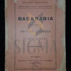BASARABIA - G . POPA - LISSEANU - Istorie