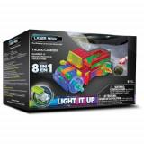 Kit Constructie cu Lumini Laser 8 in 1 - Camion - Roboti de jucarie