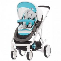 Carucior Etro 2016 Turquoise - Carucior copii 2 in 1 Chipolino