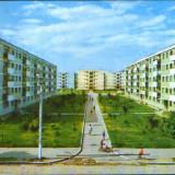 Romania - CP circulata 1986 - Moreni - Vedere - Carte Postala Muntenia dupa 1918, Fotografie