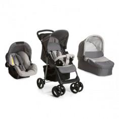 Set Carucior Shopper SLX Trioset Stone Grey - Carucior copii 2 in 1 Hauck