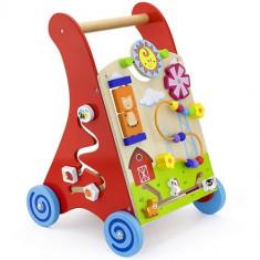 Premergator New Classic Toys cu Activitati, 1-3 ani, Multicolor
