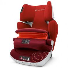 Scaun Auto Transformer XT Pro Isofix 9-36 kg TOMATO RED - Scaun auto copii grupa 1-2-3 (9-36 kg) Concord, 1-2-3 (9-36 kg), Rosu, In sensul directiei de mers