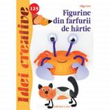 Figurine din Farfurii de Hartie 125 - Idei Creative - Carte de colorat