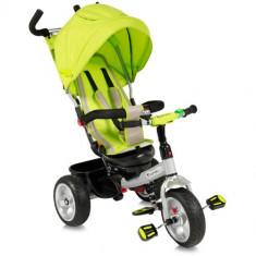 Tricicleta cu Scaun Rotativ B50 Green - Tricicleta copii