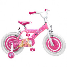 Bicicleta Barbie, 16 inch - Bicicleta copii Stamp