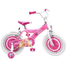 Bicicleta Barbie, 16 inch - Bicicleta copii Stamp