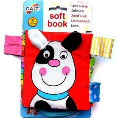 Soft Book - Carticica Moale Pets - Jucarie pentru patut Galt