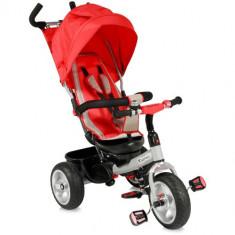Tricicleta cu Scaun Rotativ B50 Red - Tricicleta copii