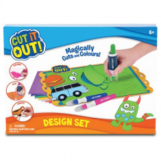 Set de Design Cut It Out - Roboti de jucarie