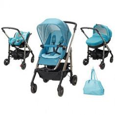 Carucior Trio Loola Excel Masaic Blue - Carucior copii 2 in 1 Bebe Confort