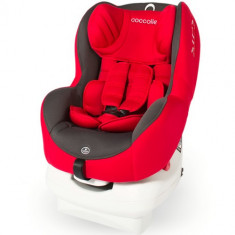 Scaun Auto MiraFix 0-18 kg Ferrari Red - Scaun auto copii Coccolle, 0+ -1 (0-18 kg), Opus directiei de mers, Isofix