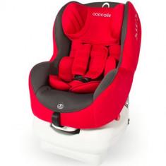 Scaun Auto MiraFix 0-18 kg Ferrari Red - Scaun auto copii grupa 0-1 (0-18 kg) Coccolle, 0+ -1 (0-18 kg), Isofix, Rosu, Opus directiei de mers