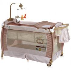 Patut Pliant Sleep n Dream Beige - Patut pliant bebelusi Lorelli, 120x60cm, Crem