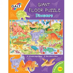 Giant Floor Puzzle Galt - Dinosaurs