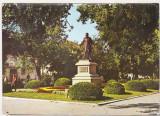 Bnk cp Galati - Statuia loui Costache Negri - necirculata - marca fixa, Printata