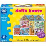 Puzzle de Podea Casuta de Papusi 25 Piese, orchard toys